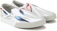 Puma BMW MMS Slip-On Track GRA Motorsport Shoes For Men(White, Grey)