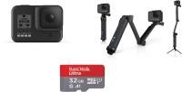 GoPro Hero8 Black Bundle Sports and Action Camera(Black, 12 MP)