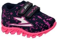 LEVOT Boys Velcro Sneakers(Pink)