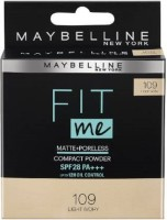 MAYBELLINE NEW YORK Fit me  Compact(Light Ivory, 109, 8 g)