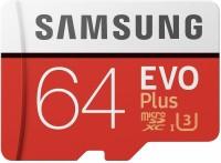 Samsung EVO Plus 64 GB MicroSDHC Class 10 95 MB/s  Memory Card