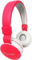 Squaircle 881A Bluetooth Headphone Bluetooth Headset with Mic(Multicolor, Over the Ear)