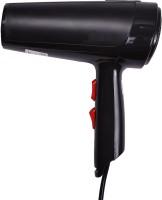MoveOn Silky Shine MHD-6006 Pro Turbo-dry 1800W Salon Compact Design Hair Dryer(1800 W, Black)