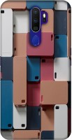 Casotec Mobile Cover Design 3D Printed Hard Back Case Cover for Oppo A9 (2020)