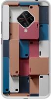 Casotec Mobile Cover Design Printed Back Case Cover for Vivo S1 Pro