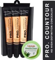 Kiss Beauty High Definition PRO Contour Shade-A with Lilium Aloevera Cream