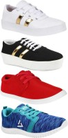 World Wear Footwear Combo Pack of 4 Stylish Casual Shoes For Women