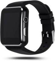 K V ELECTRONICS X6 SMART WATCH BLACK BLACK Smartwatch(Black Strap, FREE SIZE)
