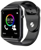 amgen A1 high quality bluetooth smartwatch Smartwatch(Black Strap, Free)