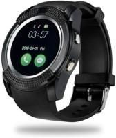 K V ELECTRONICS v8 phone Black Smartwatch(Black Strap, FREE SIZE)
