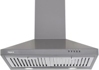 Impex CHIMINEA 550 S Wall Mounted Chimney(Silver 860 CMH)