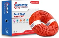 Microtek FR PVC 1.5 sq/mm Red 90 m Wire(Red)
