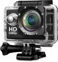 AKSHAR 2K Action Camera 1080P 12MP Sports Camera Full HD 2.0 Inch Action Cam 30m/98ft Underwater Waterproof Camera Sports and Action Camera(Black, 12 MP)