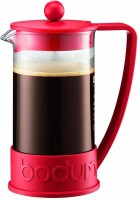 Bodum 10948-294BUS 3 Cups Coffee Maker(red, Clear)