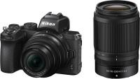 NIKON Z 50 Mirrorless Camera Body with 16-50mm & 50-250mm Lenses(Black)