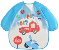 iDream Waterproof Washable Apron for Feeding Painting(Skyblue)