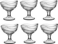 AVORA IceCream Dessert Bowl Set, 150 ml Tableware & Serving Bowl Glass Disposable Dessert Bowl(Clear, Pack of 6)