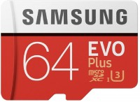 SAMSUNG Original EVO Class 10 64 GB SD Card Class 10 100 MB/s  Memory Card(With Adapter)