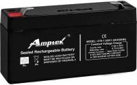 AMPTEK AT6-1.3 Flooded Solar Battery(6 V)