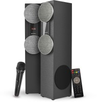 Sansui WaveBlast 2 Karaoke Compatible, Thunder Bass, Stereophonic Sound 8400 W Bluetooth Tower Speaker(Black, 2.0 Channel)