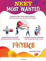 NEET Most Wanted Physics: 40 Day Revision Plan For NEET & AIIMS(Paperback, Subhash Azad)