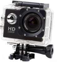 Zeom Action Shot 1080P HD1080 WATER RESISTANT ACTION AND SPORTS CAMERA Sports and Action Camera(Black) Sports and Action Camera(Black, 12 MP)