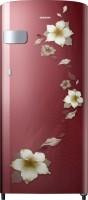 SAMSUNG 192 L Direct Cool Single Door 2 Star Refrigerator(Star Flower Red, RR19N2Y12R2/NL)
