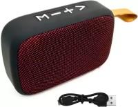 TOHUBOHU Portable Bluetooth Super Deep Bass J_B_L Sound Speaker MG2 Speaker Built-in Mic, Stereo Sound Support USB, TF Card & Subwoofer 5 W Bluetooth  Speaker(Maroon, Stereo Channel)