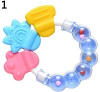 1Pc Lovely Baby Circle Balls Teether Rattles Pacifier Bell Molar Toy Tooth Care