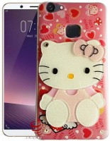 Trendzmy Mirror Soft Kitty Special Girl's Designer Back Case Cover for Vivo Y 69 (Colours& Print May Slightly Vary)