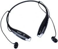 NEWNOVO BEST QUALITY HBS-730 Wireless/bluetooth For ALL MOBILES Bluetooth Headset with Mic(Black, In the Ear)