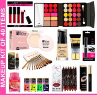 Lady Fashion Makeup Kit of 40 Items 14(Pack of 40)