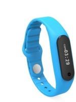 IBS E-06 Fitness Smart Band(Blue Strap, Size : Regular)