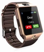 VEKIN Dz09 phone Smartwatch(Maroon Strap, Free Size)