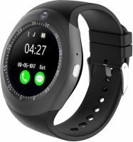 Rewy Y1S BLUETOOTH SMART WATCH WITH CAMERA MULTICOLOUR Smartwatch(Black Strap, FREE)