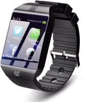 Time Up Camera,Bluetooth,SIM Card Smartwatch Black Smartwatch(Black Strap, Regular)