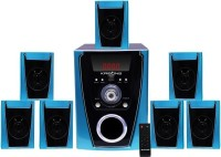 KRISONS Polo Bluetooth Home Theatre(Black, 7.1 Channel)