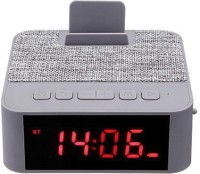 IBS X31 Bluetooth Speaker Wireless Portable Support USB TF Card With Alarm Clock Phone Holder 6 W Bluetooth  Speaker(Grey, Stereo Channel)