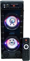 Barry John Mini Bahubali with AUX, USB, Bluetooth, FM & MMC 50 W Bluetooth Tower Speaker(Black, Stereo Channel)