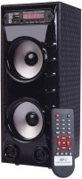 Drezel Multifunctions Multimedia Bluetooth Mini Tower Speaker Bluetooth Tower Speaker(Black, 2.0 Channel)