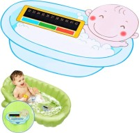 Futaba Card Plate Board for Babies Infants Baby Thermometer(Blue)