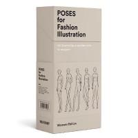 Poses for Fashion Illustration (Card Box)(English, Postcard book or pack, Fashionary)