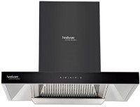 Hindware AUTO CLEAN 75 Auto Clean Wall Mounted Chimney(BLACK 1200 CMH)