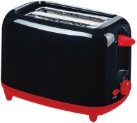 Agaro 33406 750 W Pop Up Toaster(Black)