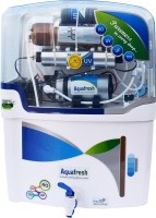 Aqua fresh NYC Model RO_UV_UF_TDS_With Copper Filter 12 L RO + UV + UF + TDS Water Purifier(White, Blue)