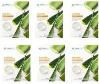Mirabelle Cosmetics Korea  ALOE VERA FAIRNESS FACIAL MASK A PACK OF 6 25 ml 150 ml