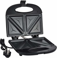 Prestige 800 Watt Sandwich , Black fixed plate Toast(Black)
