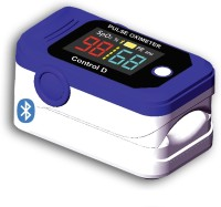 Control D Bluetooth Digital Pulse Oximeter for SpO2 & Pulse Measurement Pulse Oximeter(Blue, White)