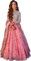 Zeel Clothing Pink Lehenga