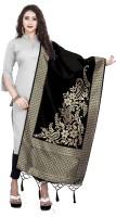 BEUNIV Art Silk, Jacquard Woven Women Dupatta